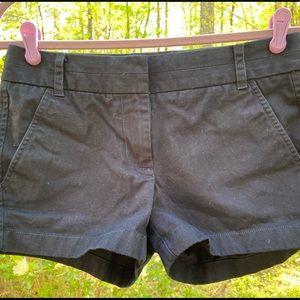 Women's J. Crew Navy Chino Shorts Size 0